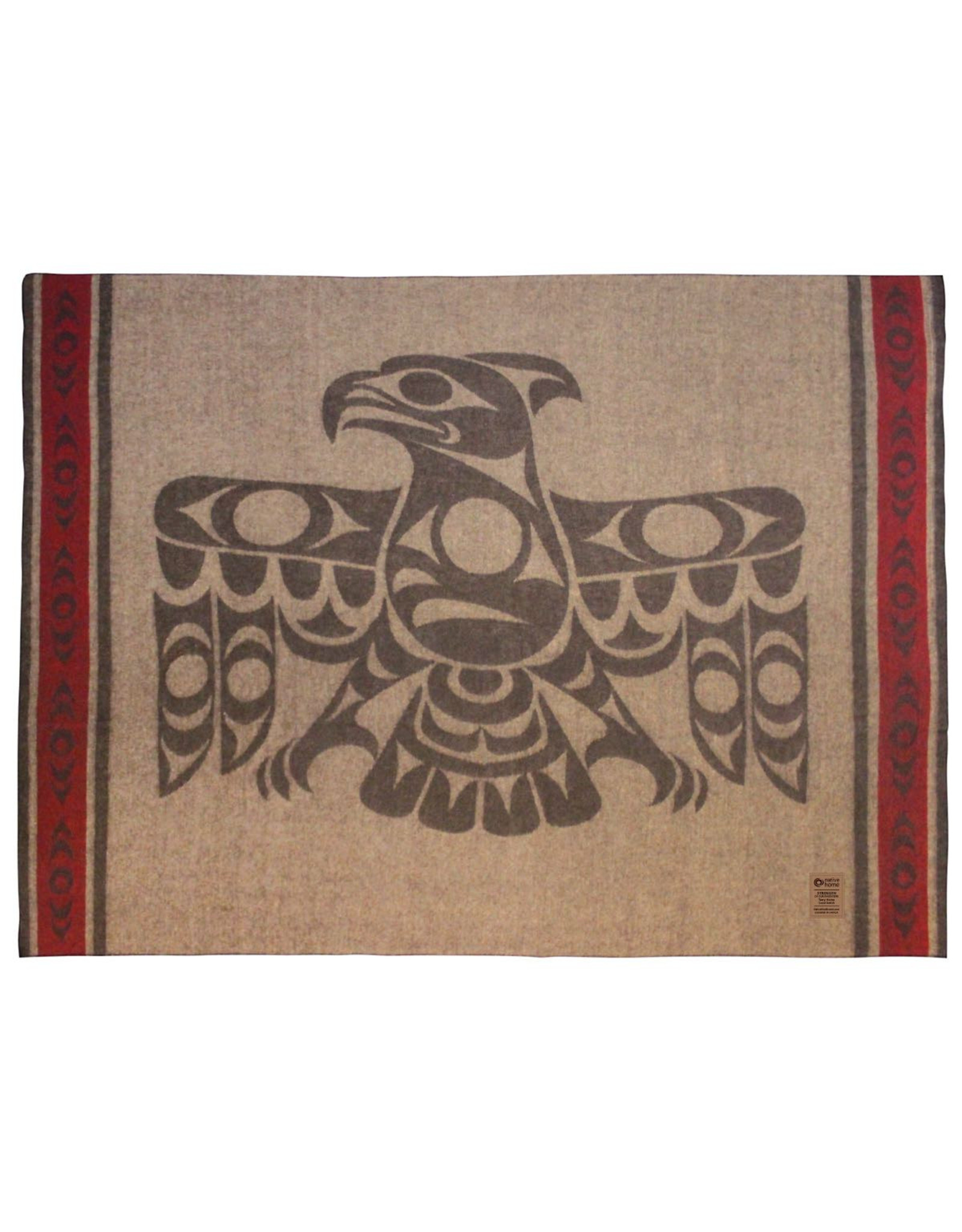 Strength of Our Ancestors by Terry Home Wool Blanket - BWHA