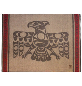 Strength of Our Ancestors by Terry Horne Wool Blanket