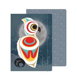 Journal - Spirit Owl by Maynard Johnny Jr. (JRL8)