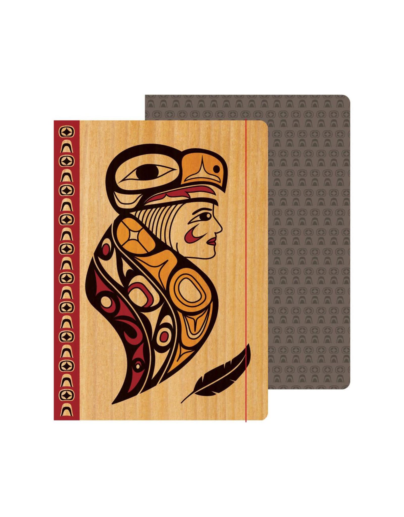 Journal - Eagle Woman by Melaney Gleeson-Lyall (JRL7)