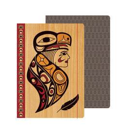 Journal - Eagle Woman by Melaney Gleeson-Lyall (JRL7)