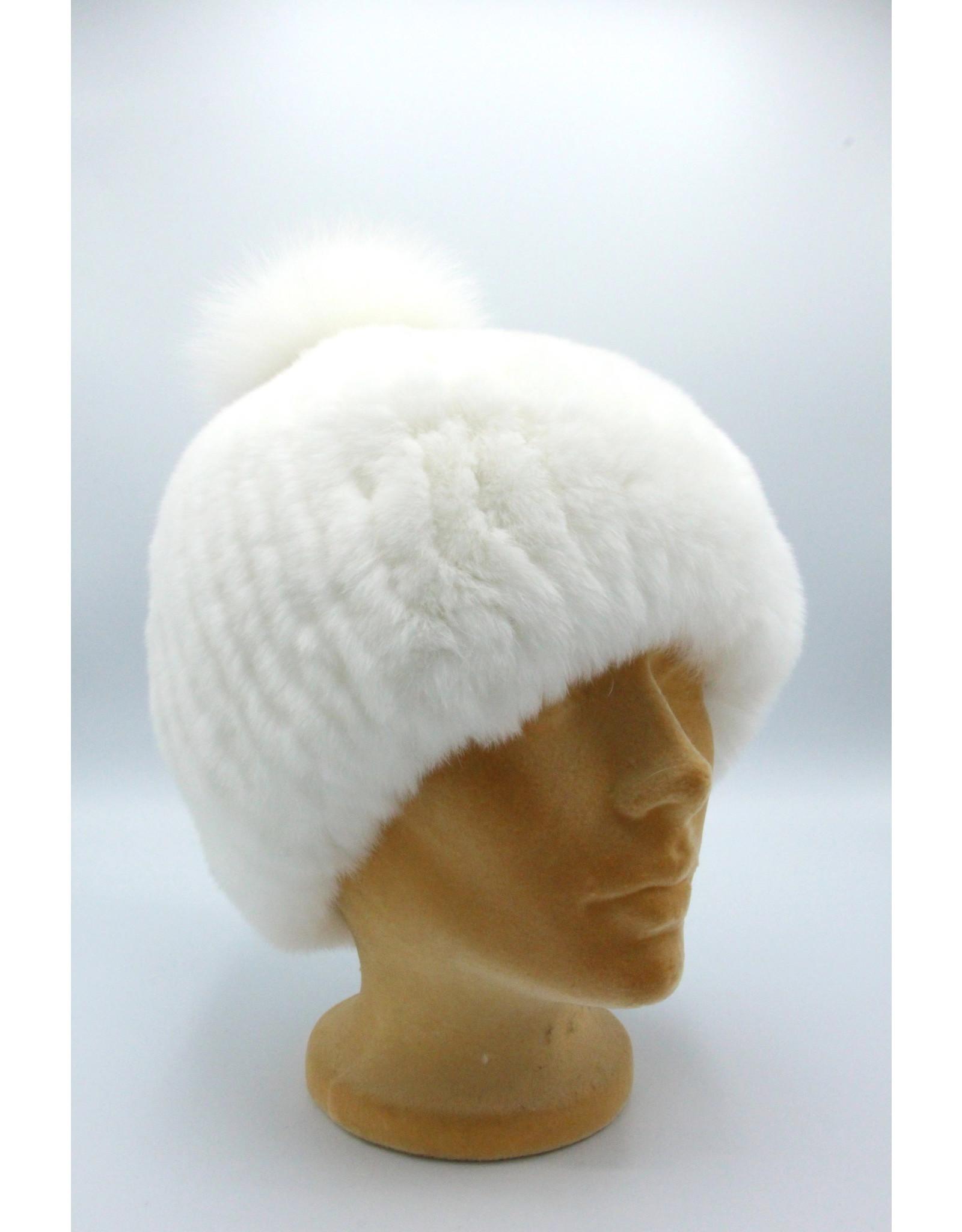 Chinchilla & Rabbit Hat