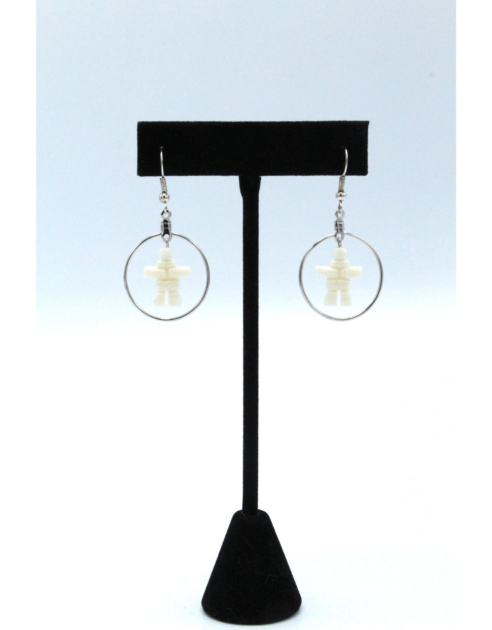 Inukshuk Dangle Earrings - 179-5107