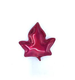 Plat Feuille d'Érable (rouge brossé) - 2620
