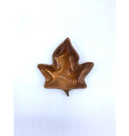 Plat Feuille d'Érable (poudre cuivré) - 2620