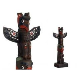 Thunderbird-Bear Totem Pole