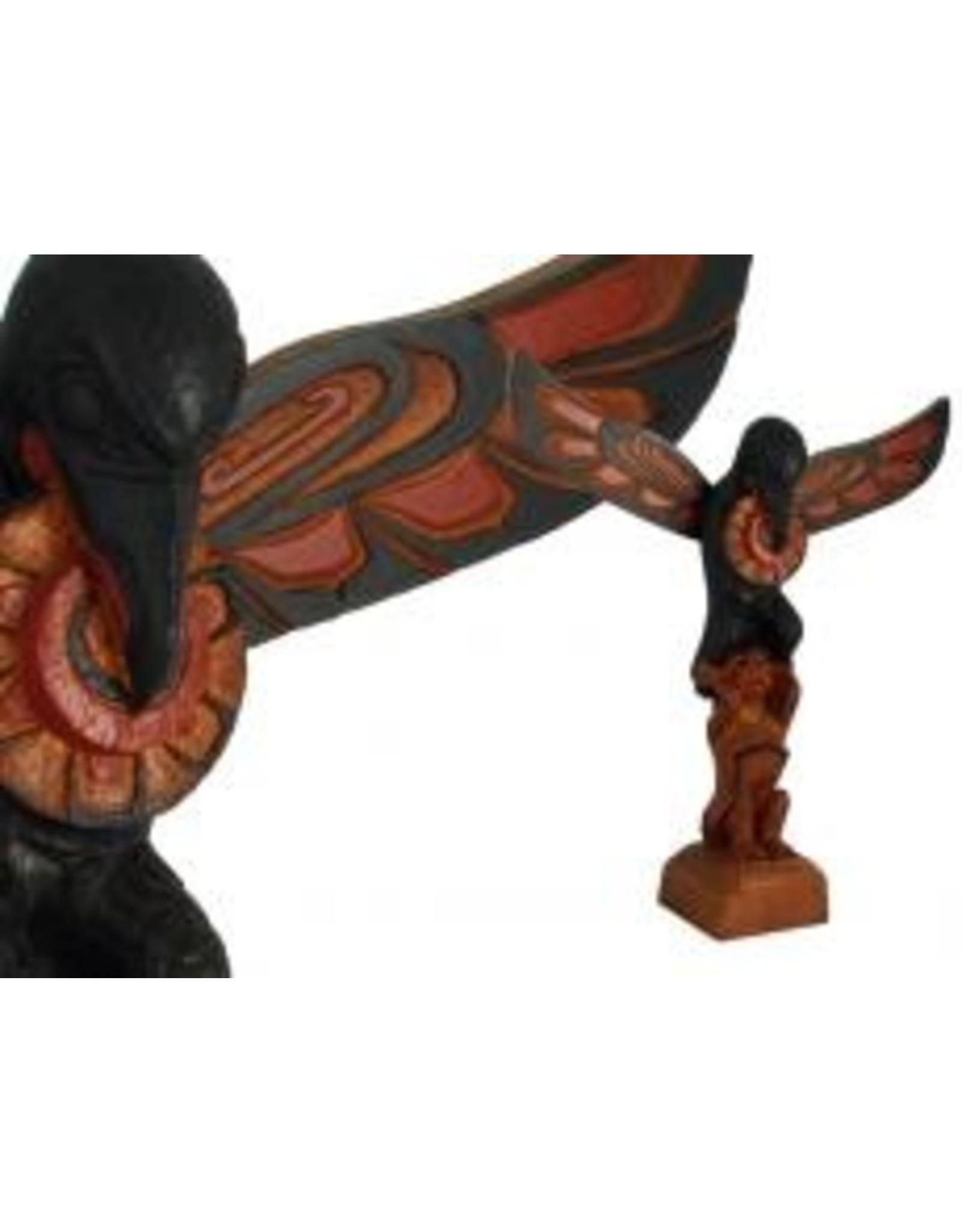 Raven Stealing Sun Totem Pole  - 401