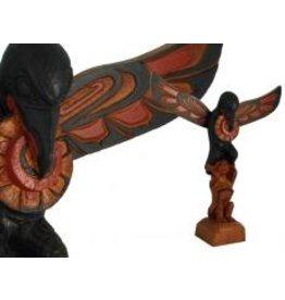 Raven Stealing Sun Totem Pole