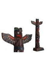 Thunderbird-Bear Totem Pole - 195