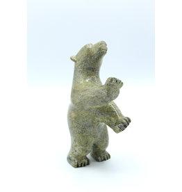 Dancing Bear by Eegeesiak Pitsiulak