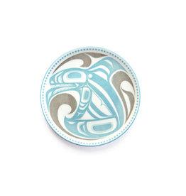 Porcelain Art Plate - Killer Whale by Trevor Angus