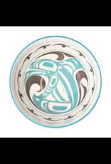 Medium Art Bowl - Killer Whale by Trevor Angus (BOWLM13)