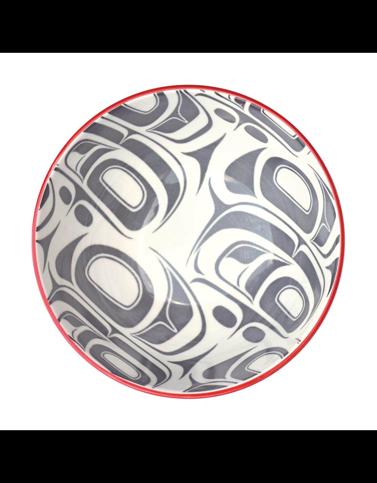Medium Art Bowl - Transforming Eagle by Ryan Cranmer (BOWLM12)