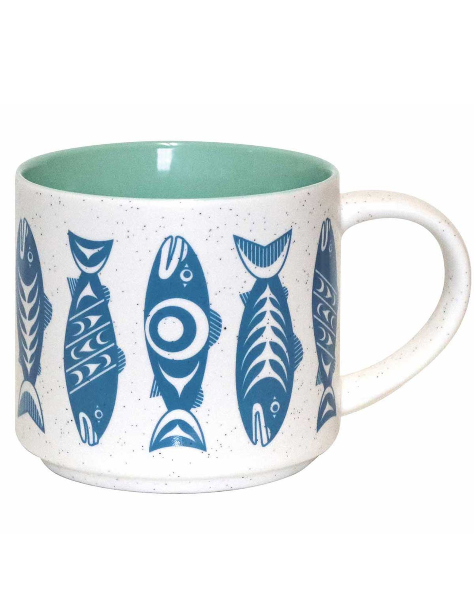 Ceramic Mug - Salmon in the Wild (CMUG18)