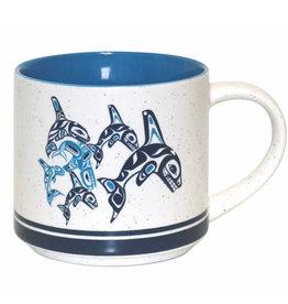 Ceramic Mug - Orca Family