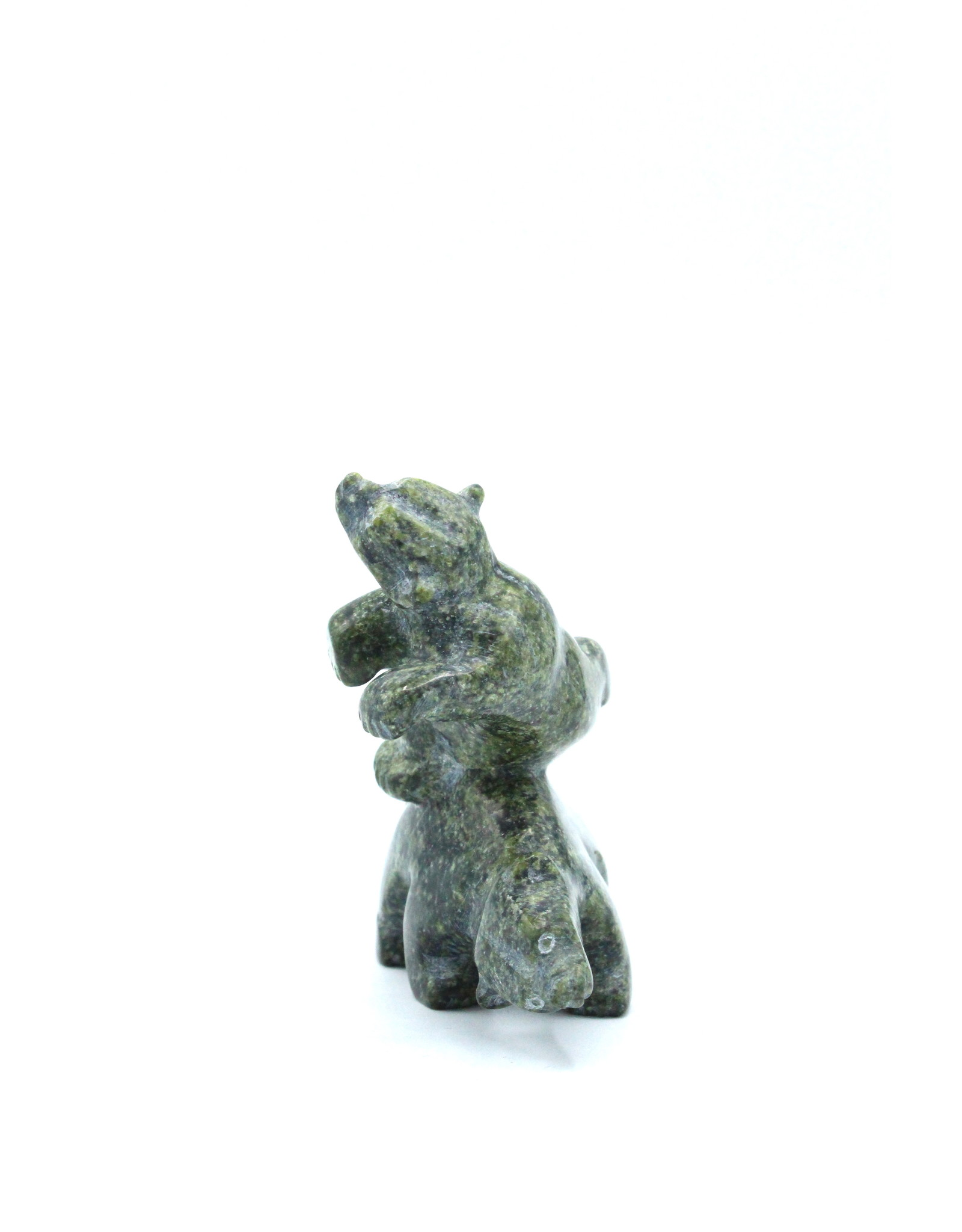 6856N 2 Bears by Johnny Papigatuk