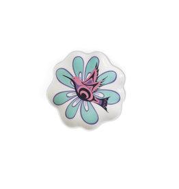 Petit Plat en Céramique - Hummingbird par Nicole La Rock