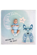 Baby Blanket and Milestone Sets- Wolf by Simone Diamond (BBK12)