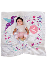 Baby Blanket and Milestone Sets- Hummingbird by Simone Diamond (BBK13)