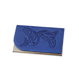 Card Holder - Whales by Paul Windsor (CH17)