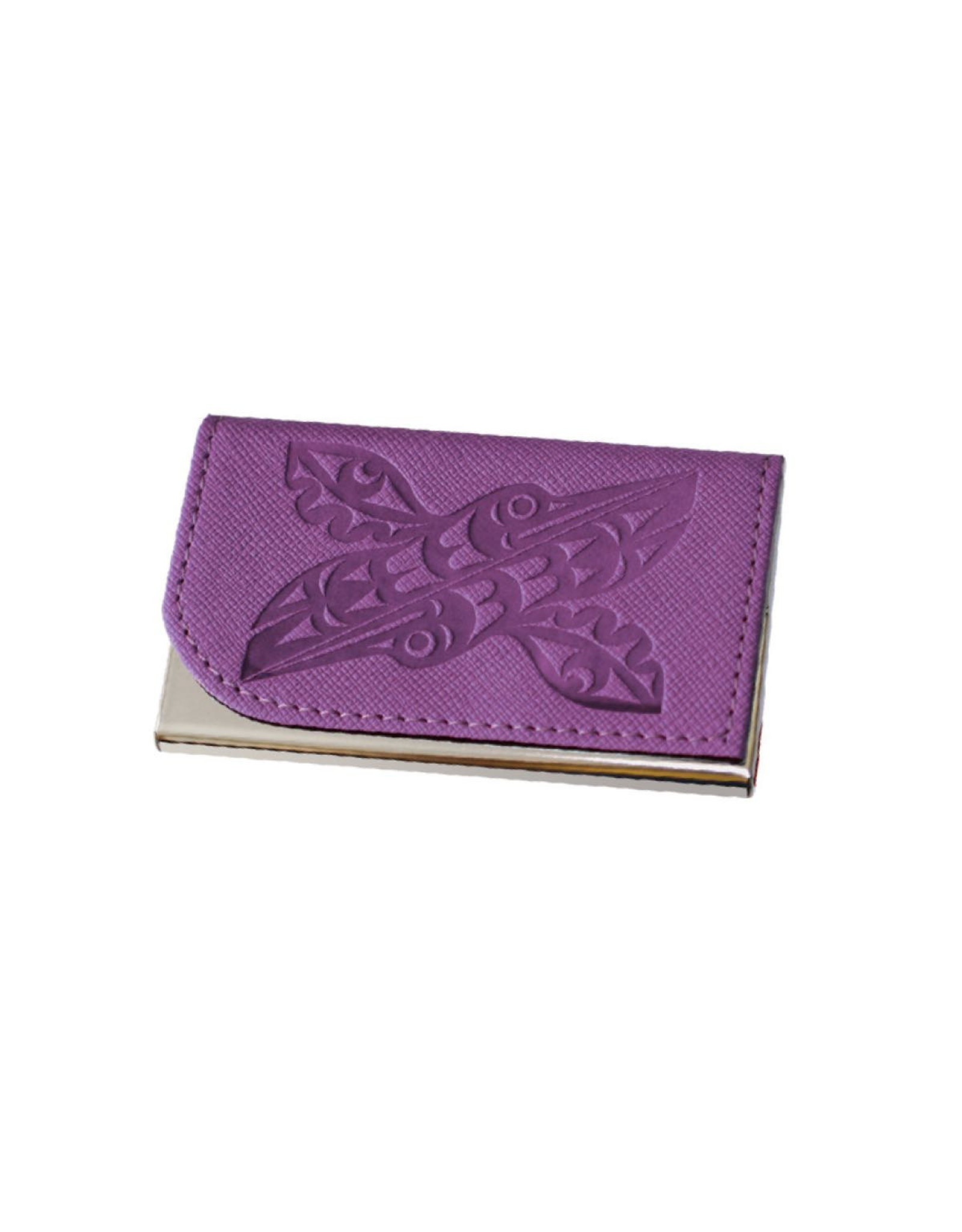 Card Holder - Hummingbirds by Maynard Johnny Jr. (CH15)