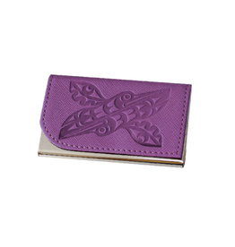 Card Holder - Hummingbirds by Maynard Johnny Jr.