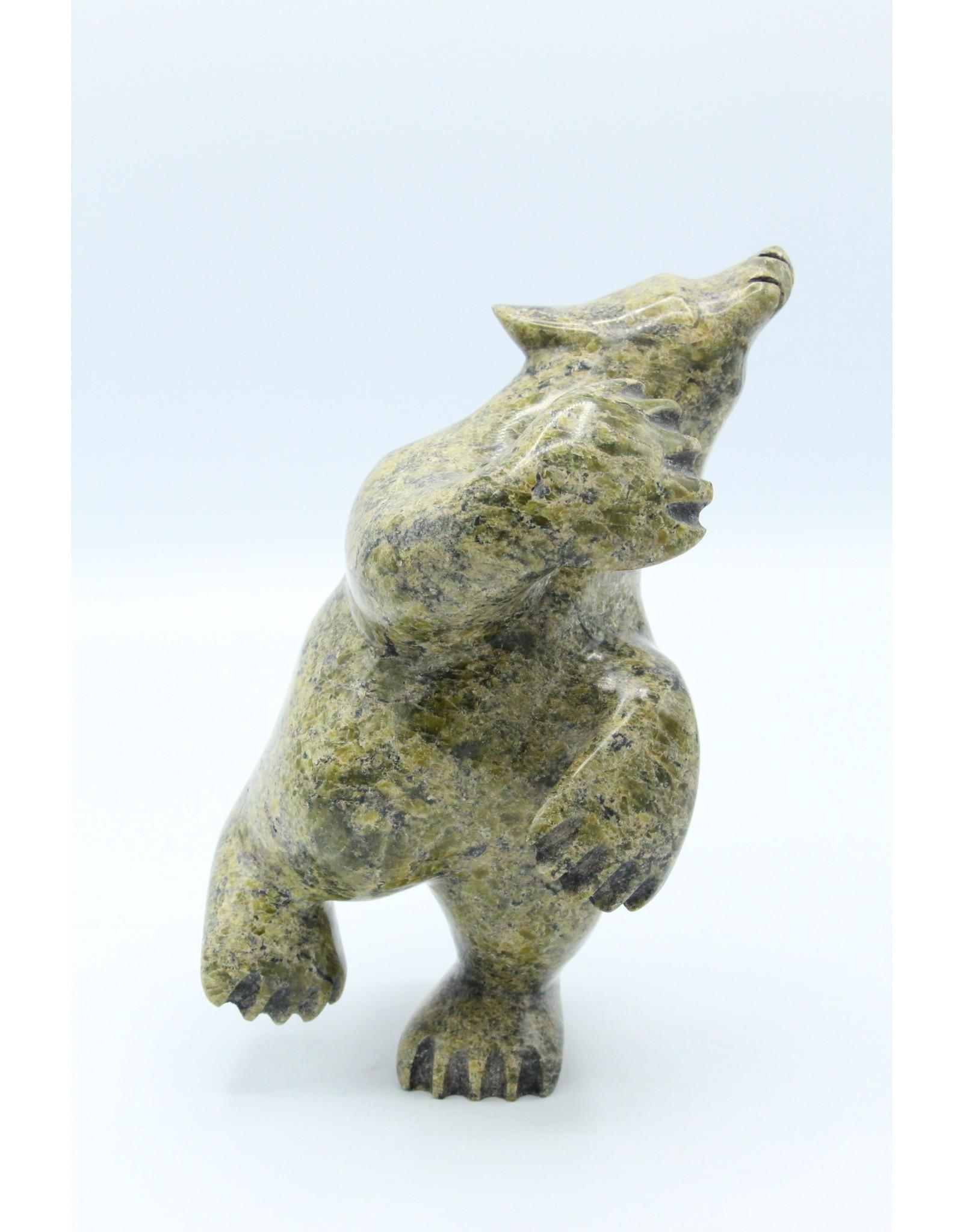 57370 Dancing Bear by Ottokie Samayualie