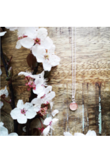 B.C Cherry Blossom 8mm Silver Necklace - VCB0108S