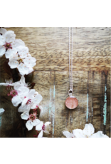 B.C Cherry Blossom 12mm Silver Necklace - VCB0112S