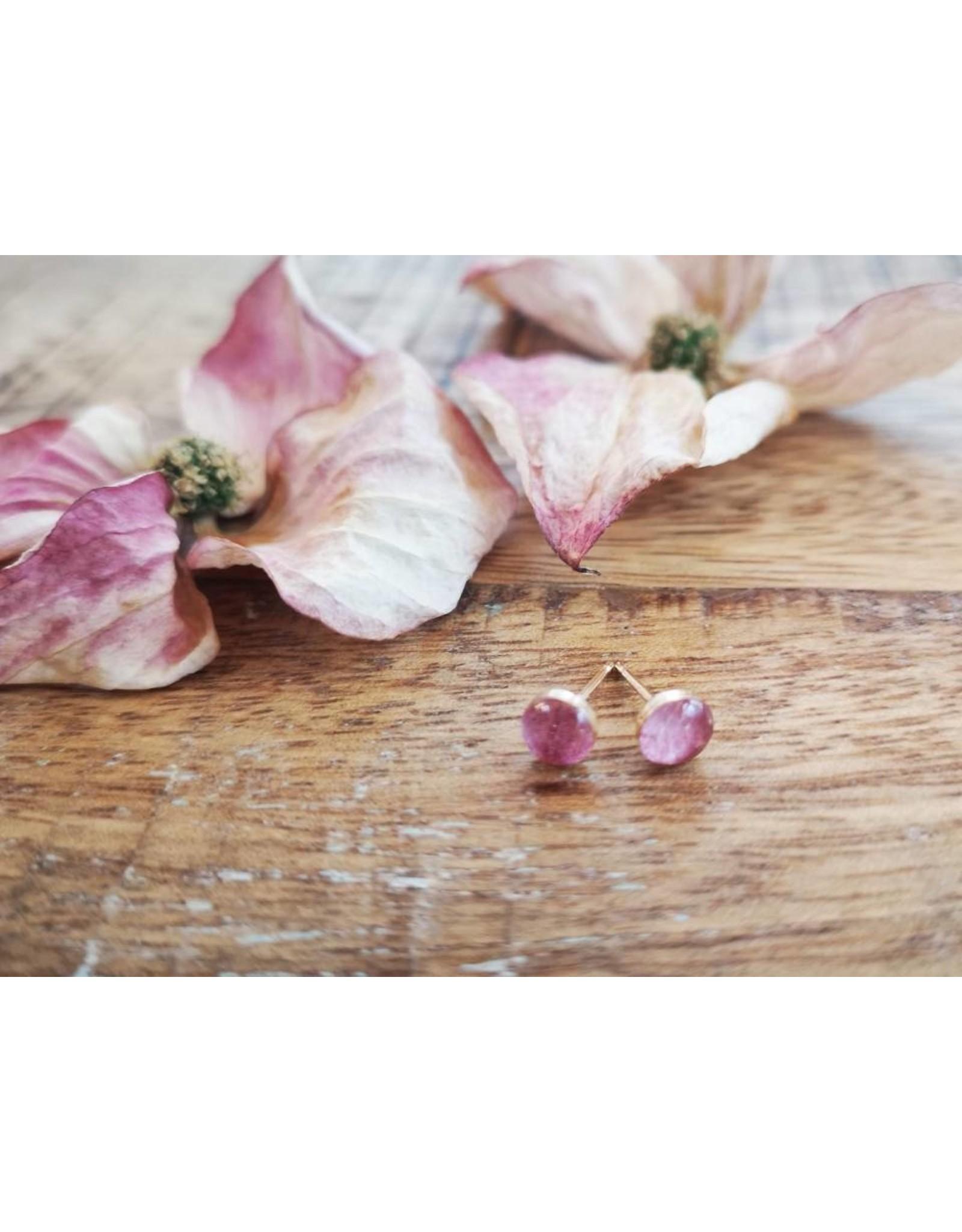B.C Dogwood 5mm Plated Gold Earrings - BC0505G