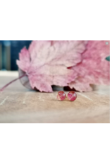 Maple Leaf 4mm Gold Earrings - ML0504G