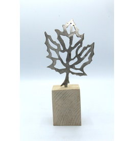 Metal Sculpture - Small Maple Leaf