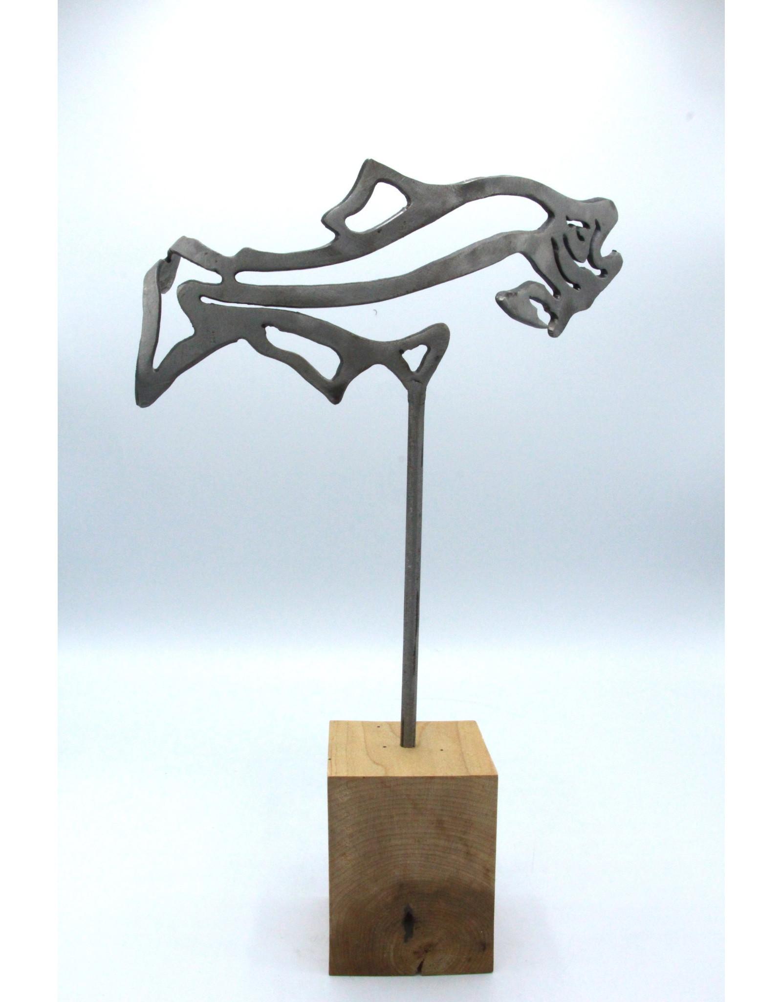 Metal Sculpture - Small Fish