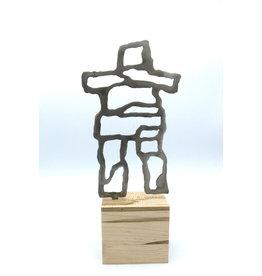 Sculptures en métal - Inukshuk moyen