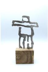 Sculptures en métal - Petit Inukshuk
