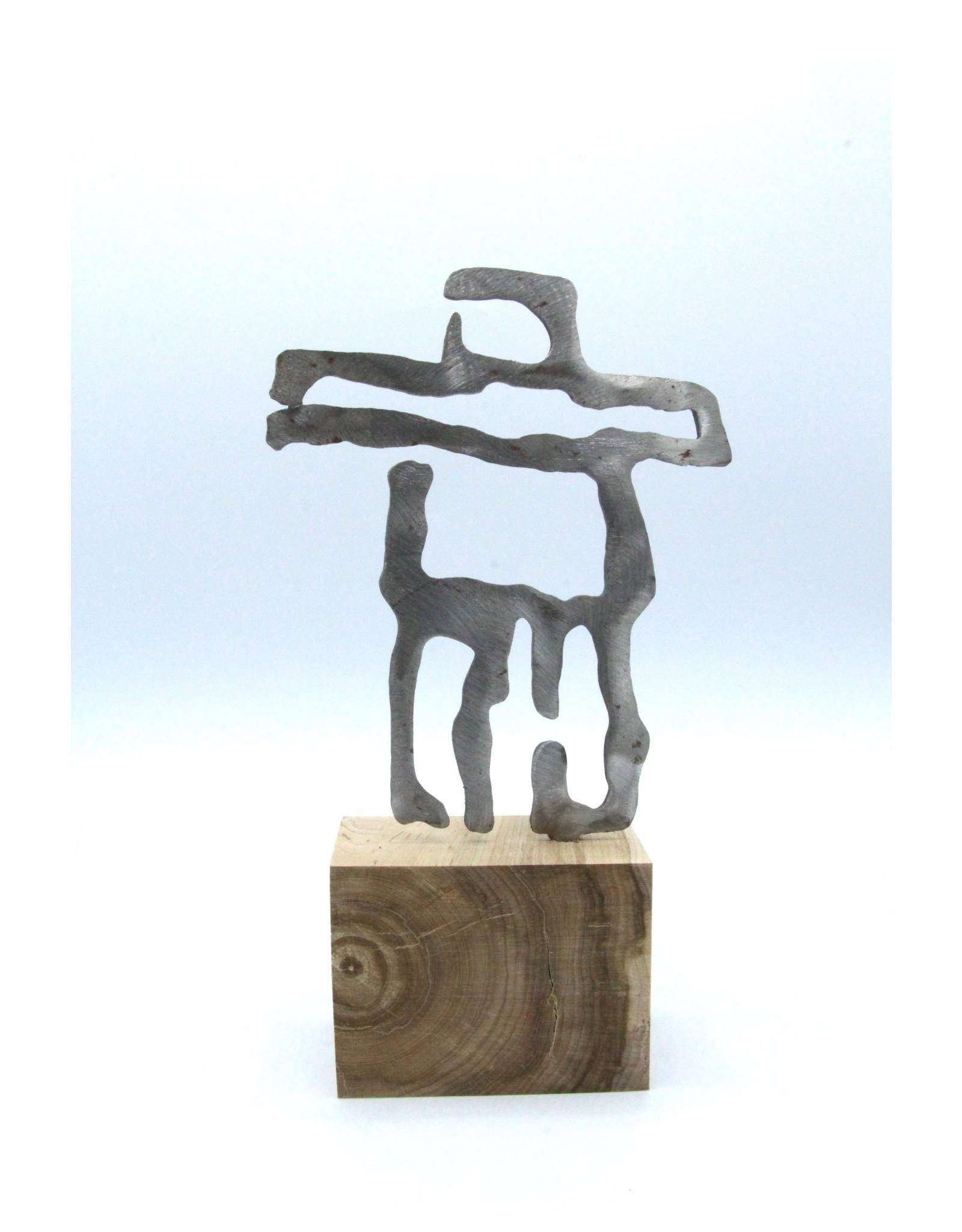 Metal Sculptures - Small Inukshuk
