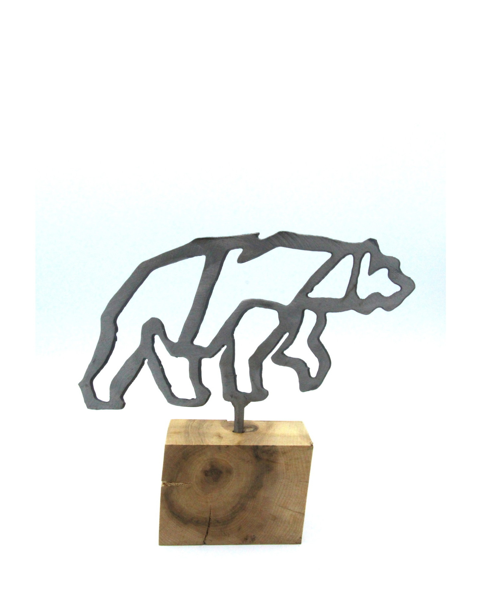 Metal Sculptures - Small Bear