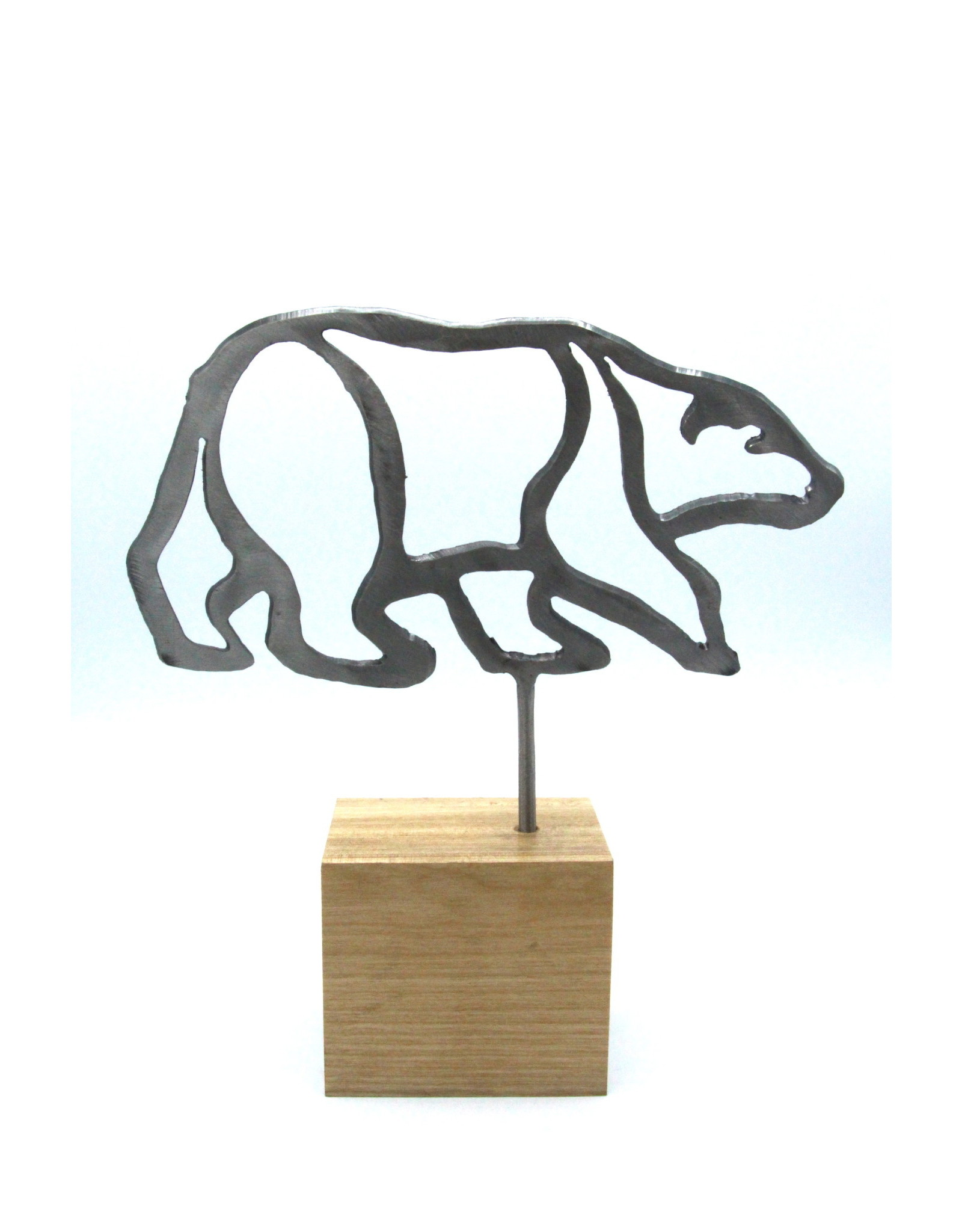Metal Sculptures - Medium Bear