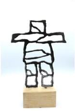 Metal Sculptures - Large Inukshuk