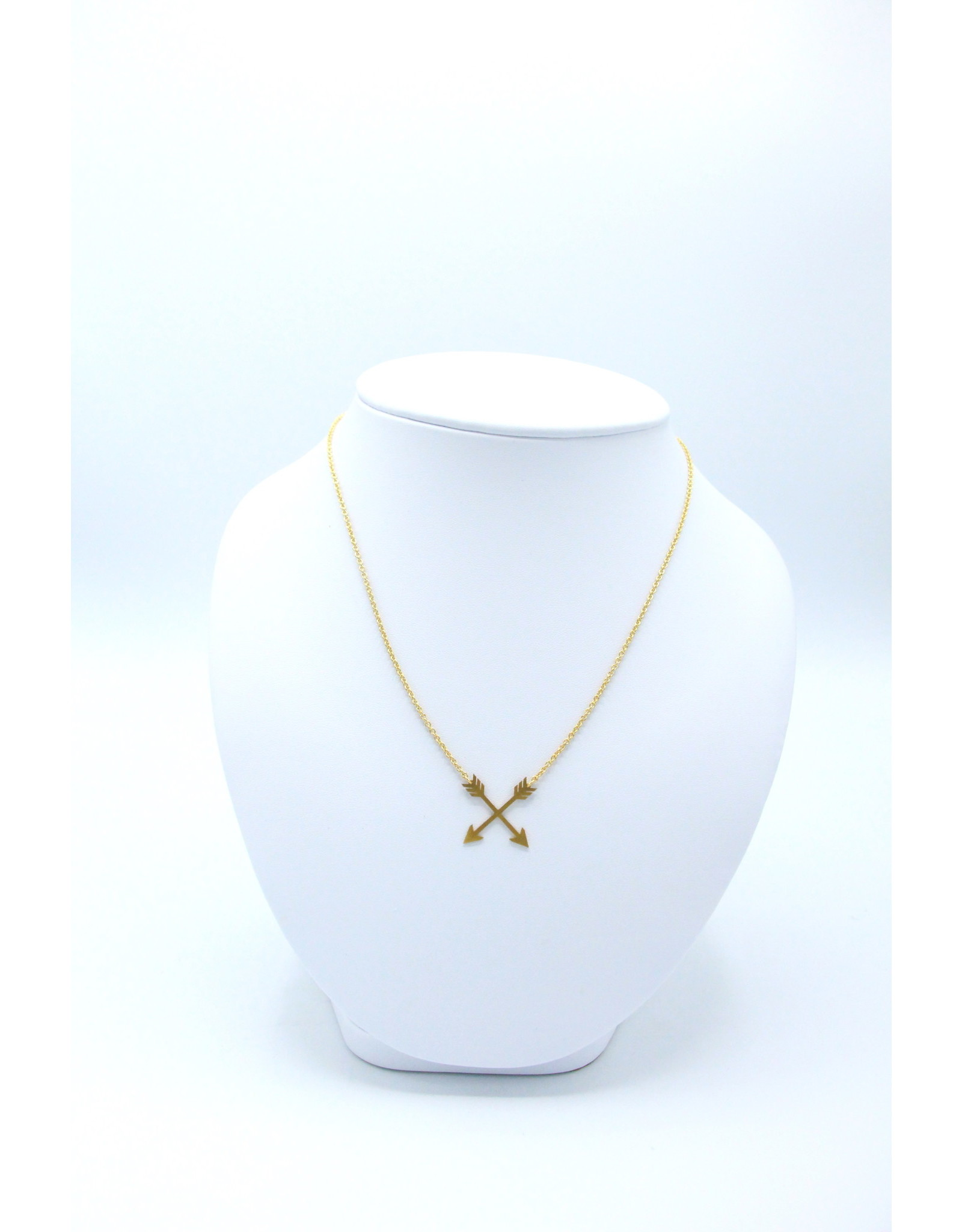 Cross Arrow Necklace