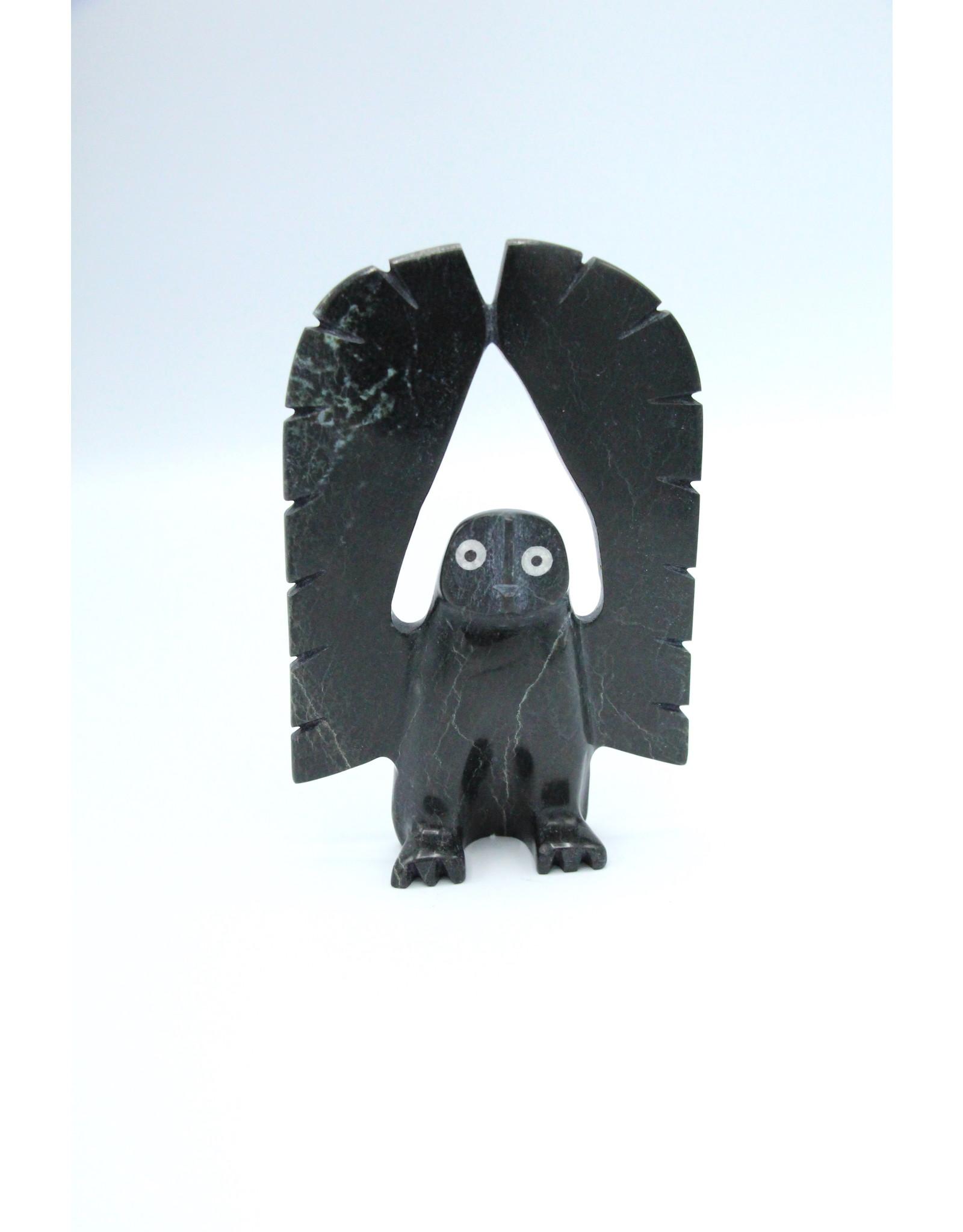 Owl by Adamie Qaumagiak - 6296N