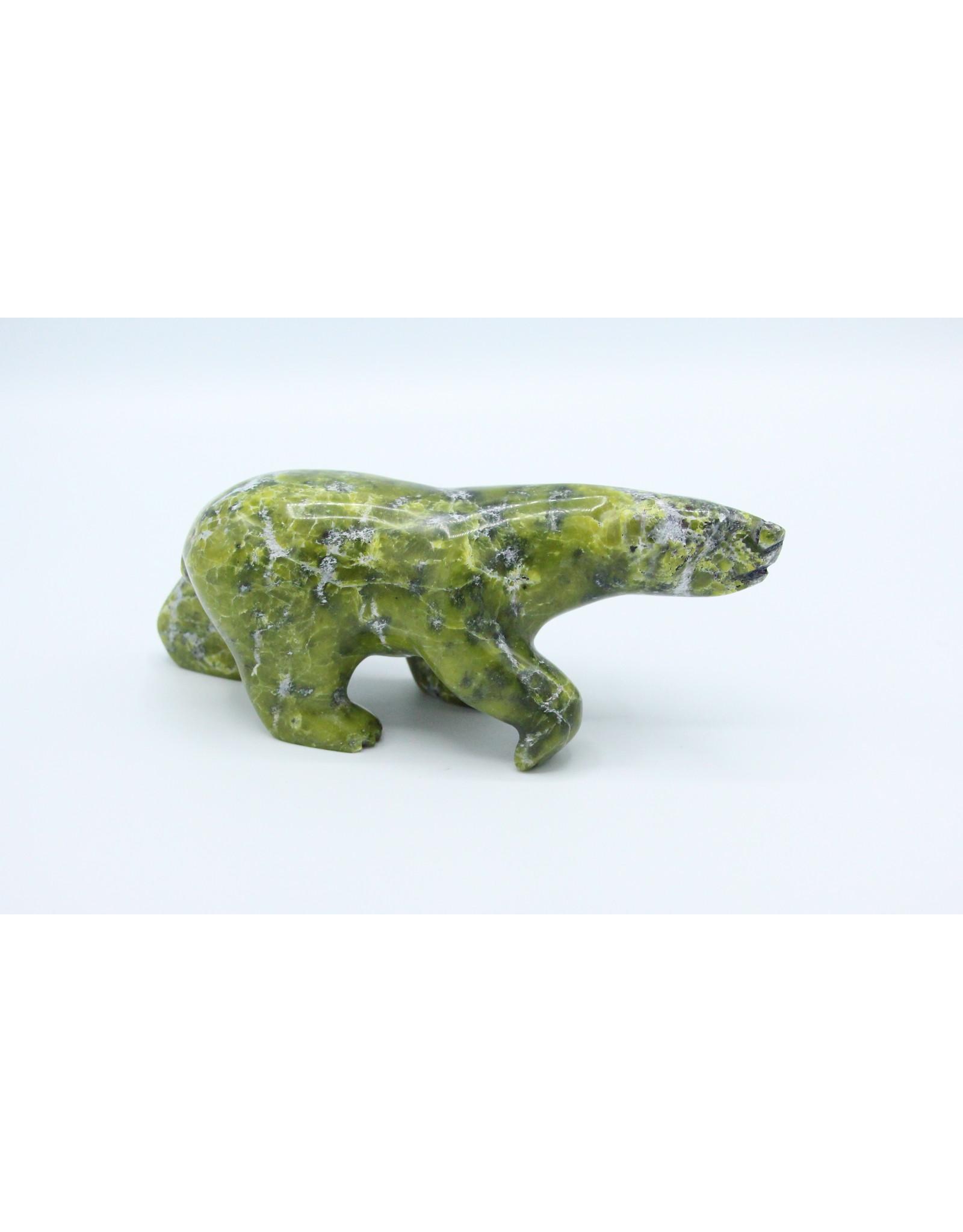 Walking Bear by Allan Shutiapik - 202-268891