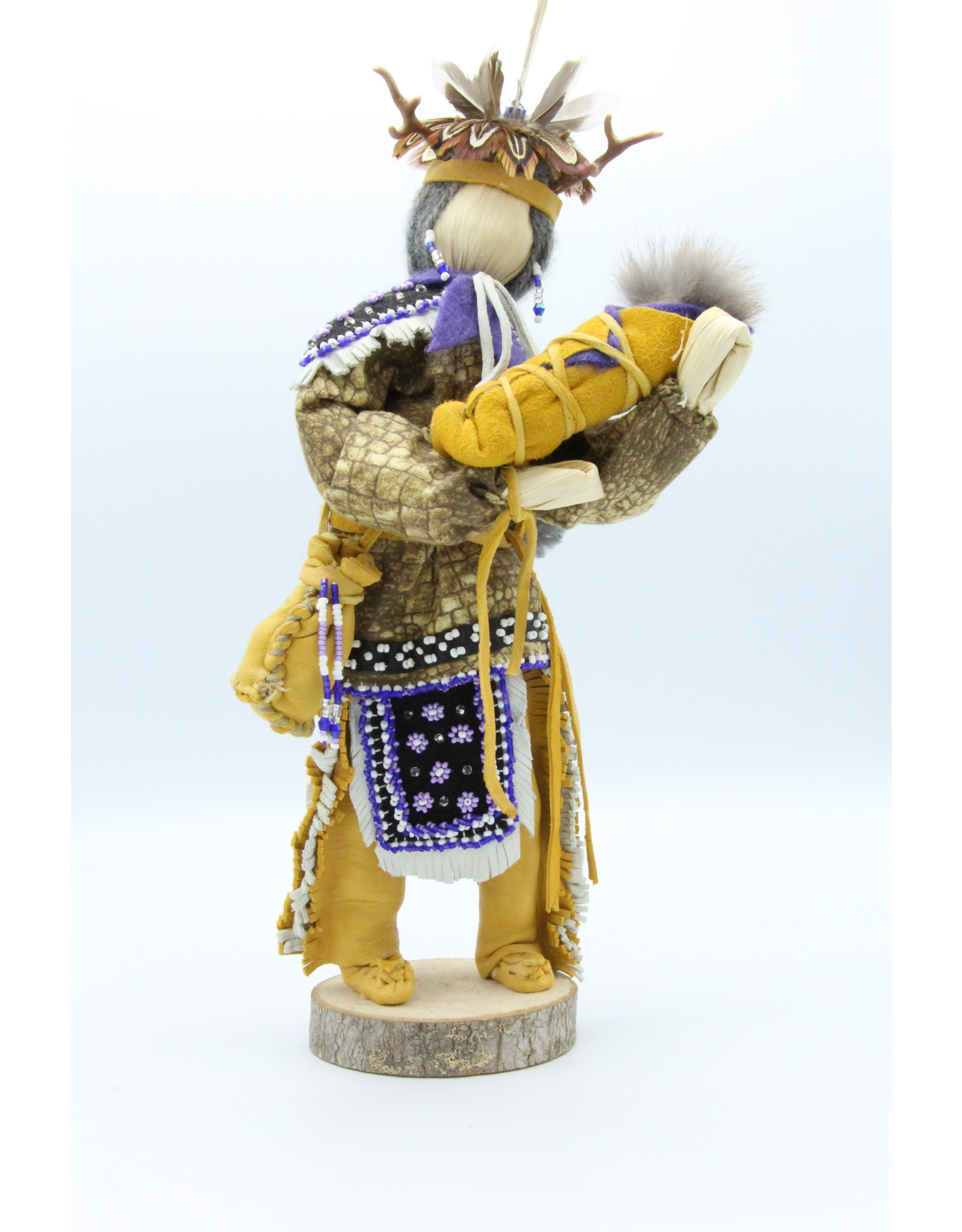 44-977 Corn Husk Doll with Infant