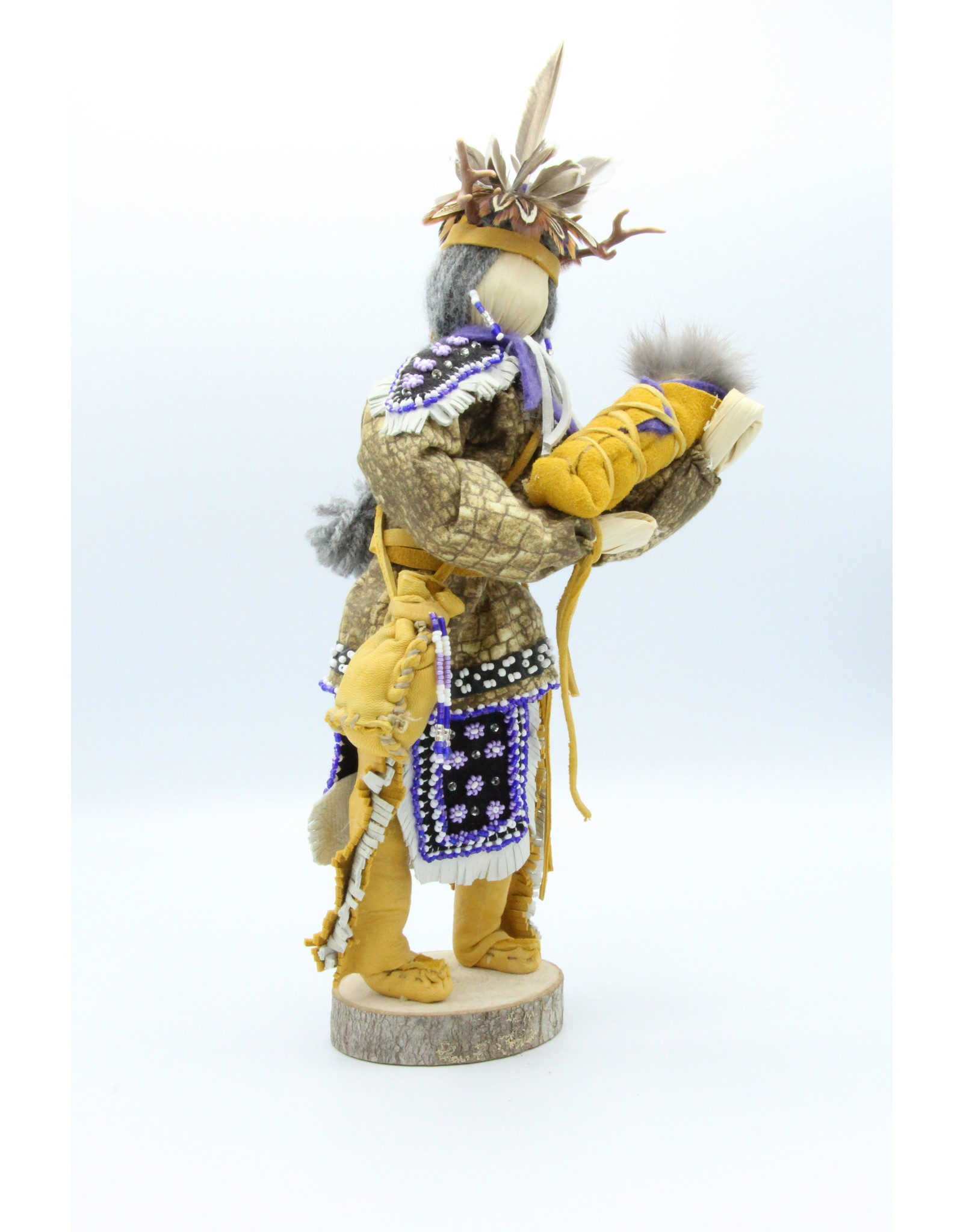 Corn Husk Doll with Infant - 44-977