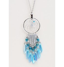 Dreamcatcher Necklace with Beads