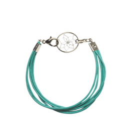 Dreamcatcher Leather Cord Bracelet