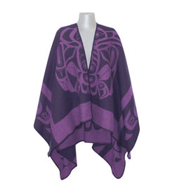 Reversible Wrap - Purple Raven