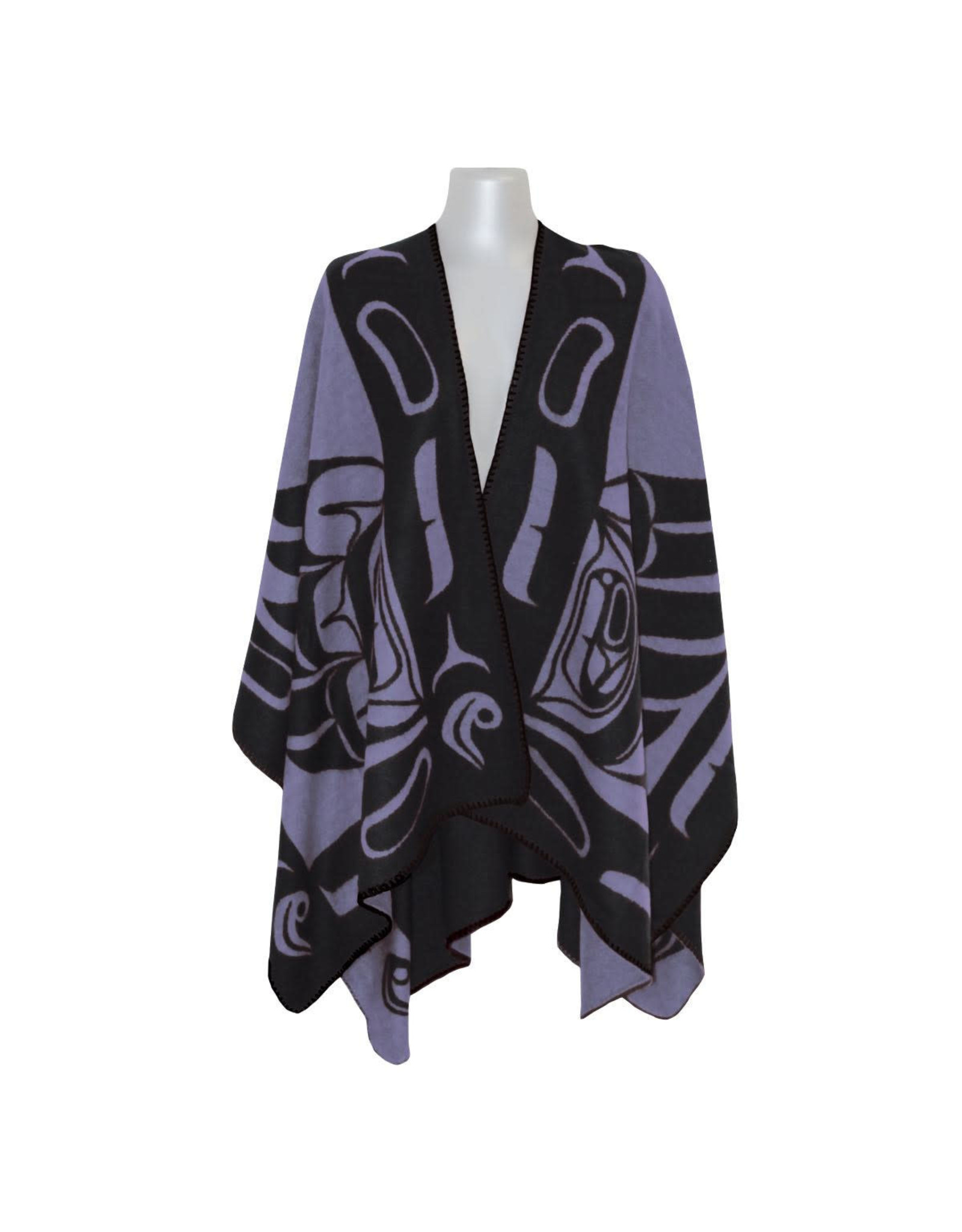 Reversible Wrap - Purple & Black Eagle (WRAP84)