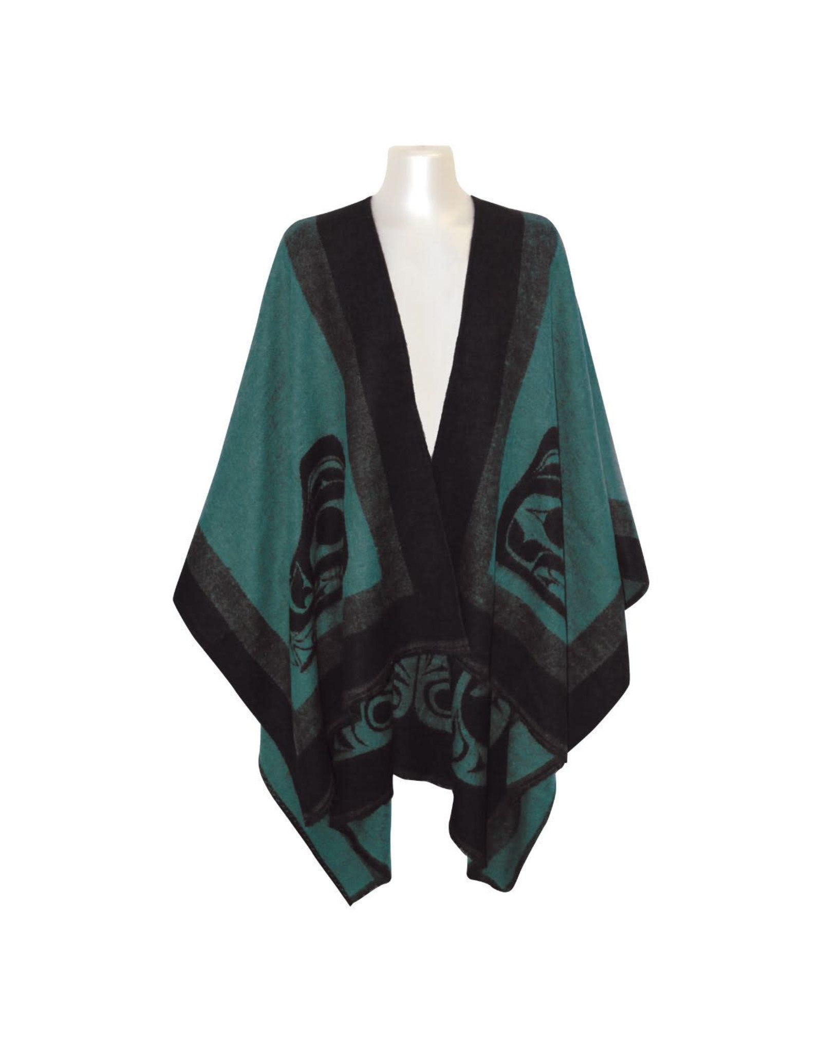 Reversible Wrap - Teal Sea Wolf (WRAP3)