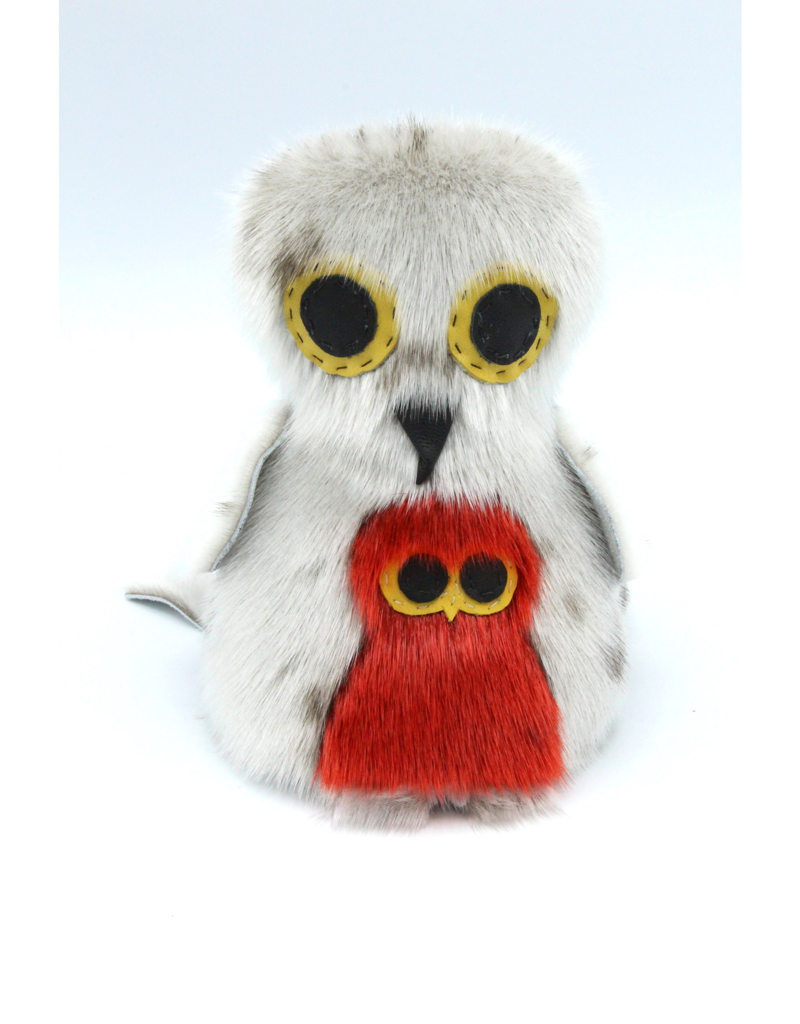 Sealskin Owl & Baby - 203-113406